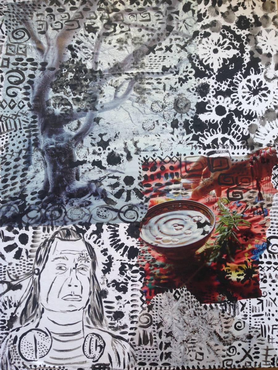 'Schamane' von  Fraupingartwork