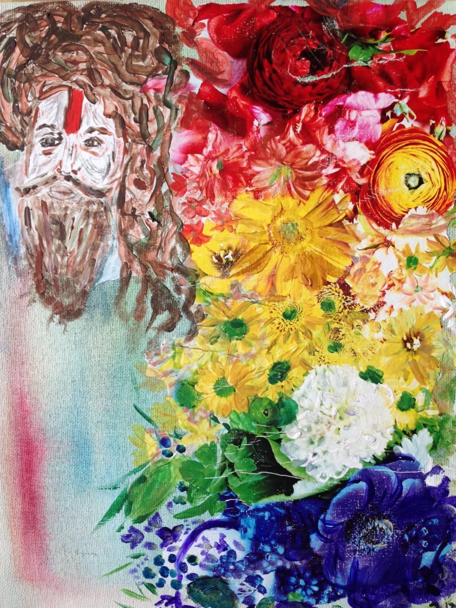 'Flowerman' von  Fraupingartwork