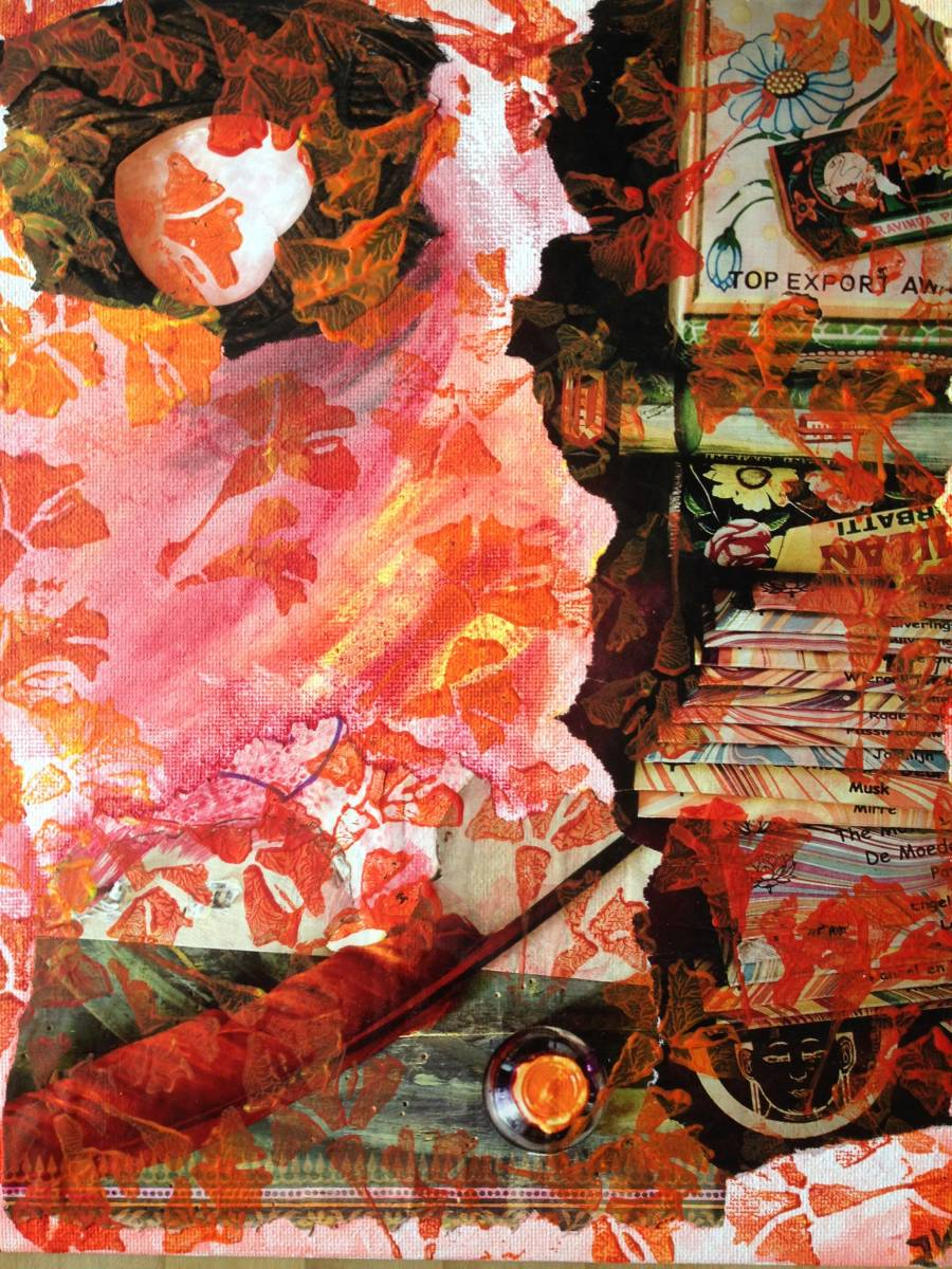 'Rote Blüten' von  Fraupingartwork