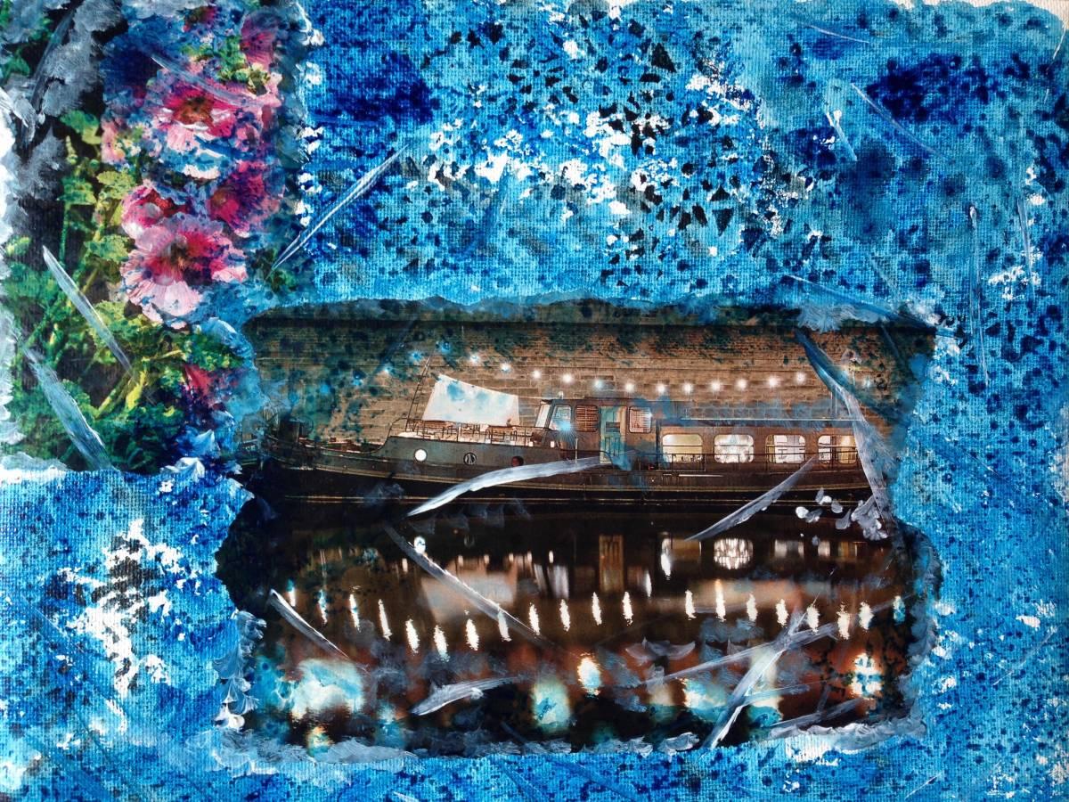 'Hausboot' von  Fraupingartwork