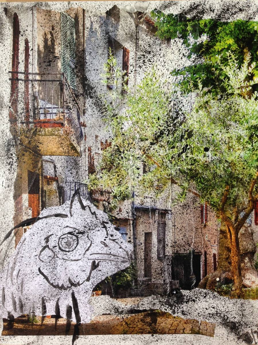 'Stadthuhn' von  Fraupingartwork