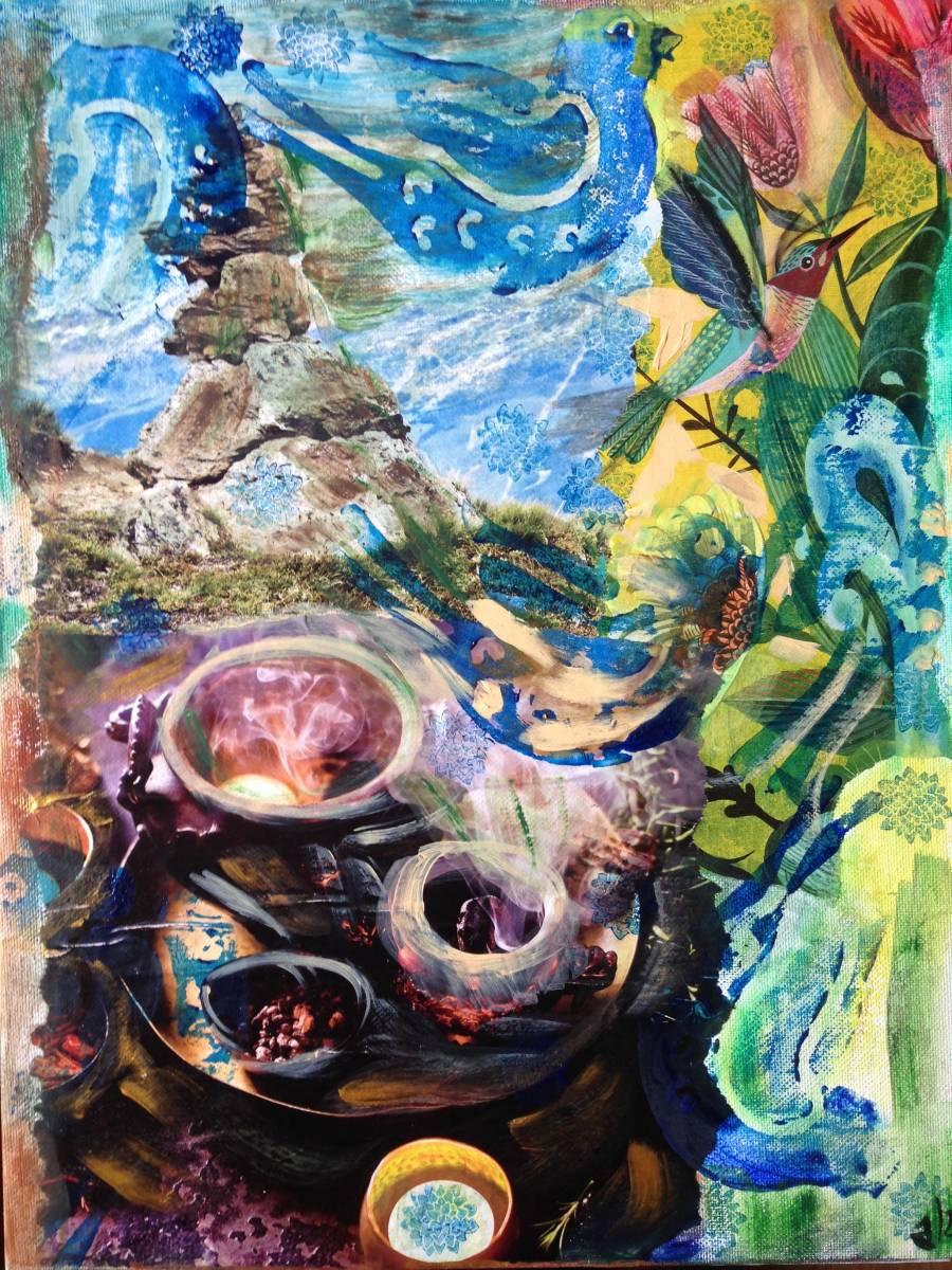'Rauchvogel' von  Fraupingartwork