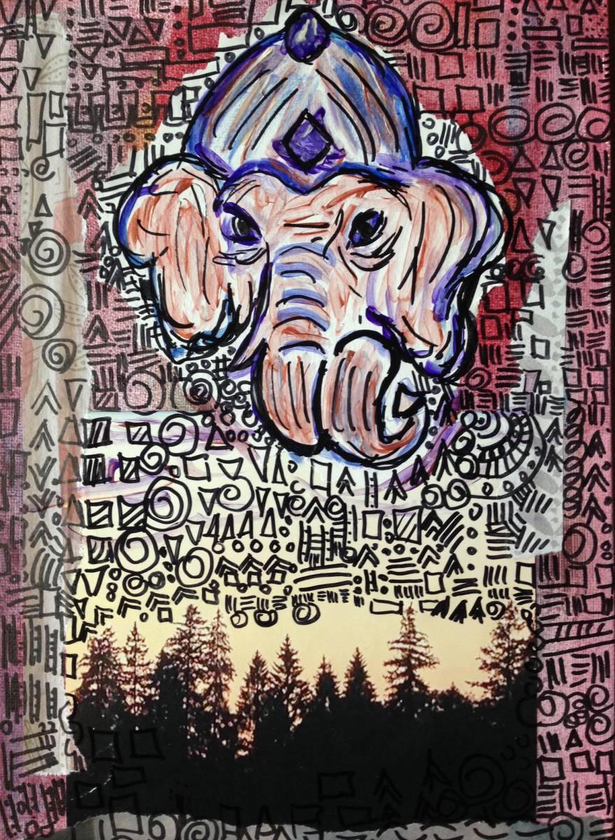 'Wald Ganesha' von  Fraupingartwork