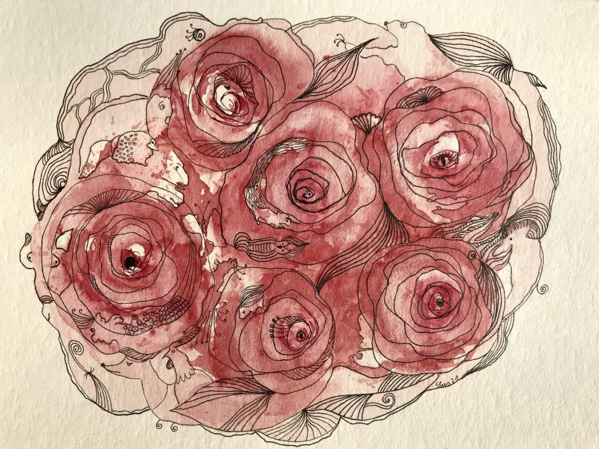 'La vie en rose' von Susanne Binder