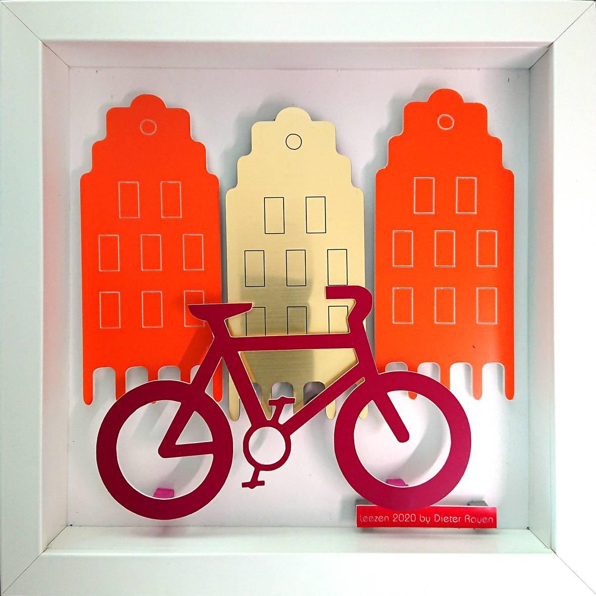 'Münster 3D Rad' von Goldletter