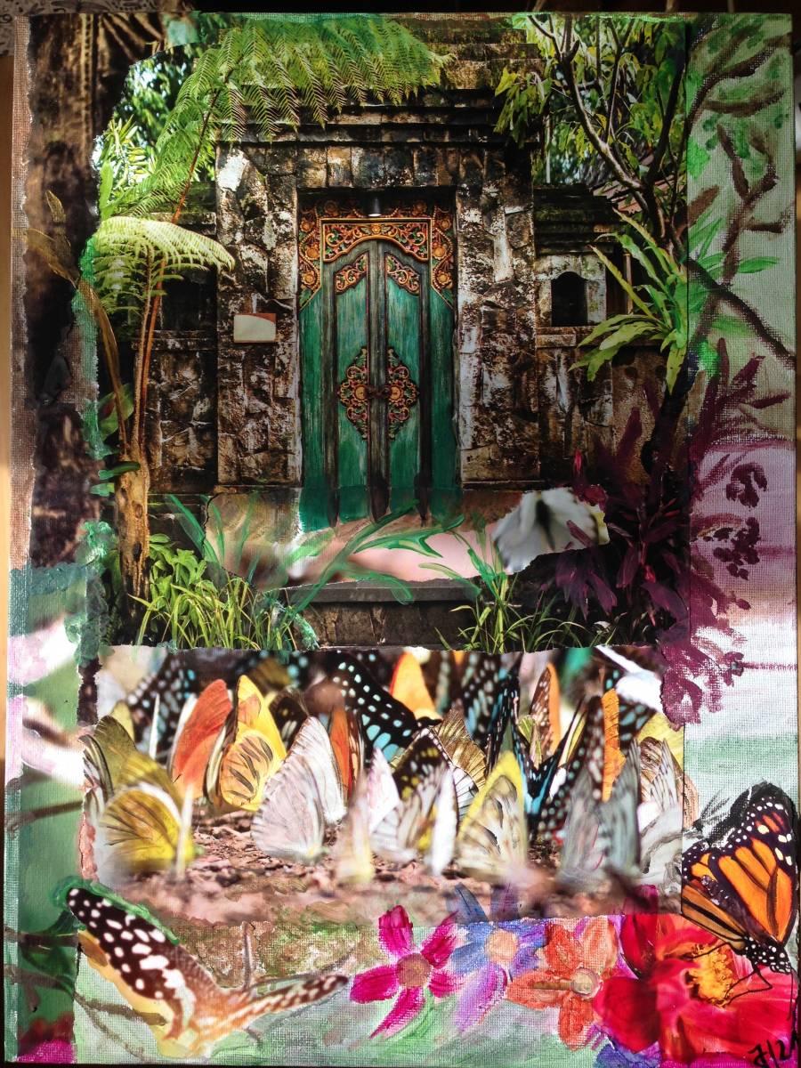 'Schmetterlingstür' von Fraupingartwork
