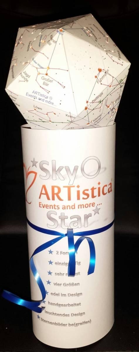 'SKY STAR DSIGNER Sternen Himmel Lampen Handgearbeitet in Liebe' von  spirit