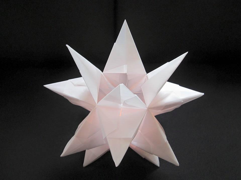 'Sternen Lampe Teelicht Papier' von spirit