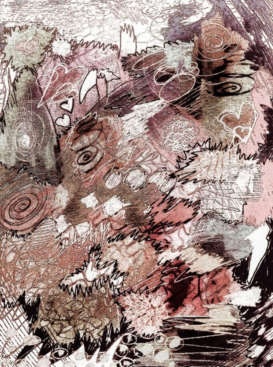 'Intuitives malen' von Nomi Morina