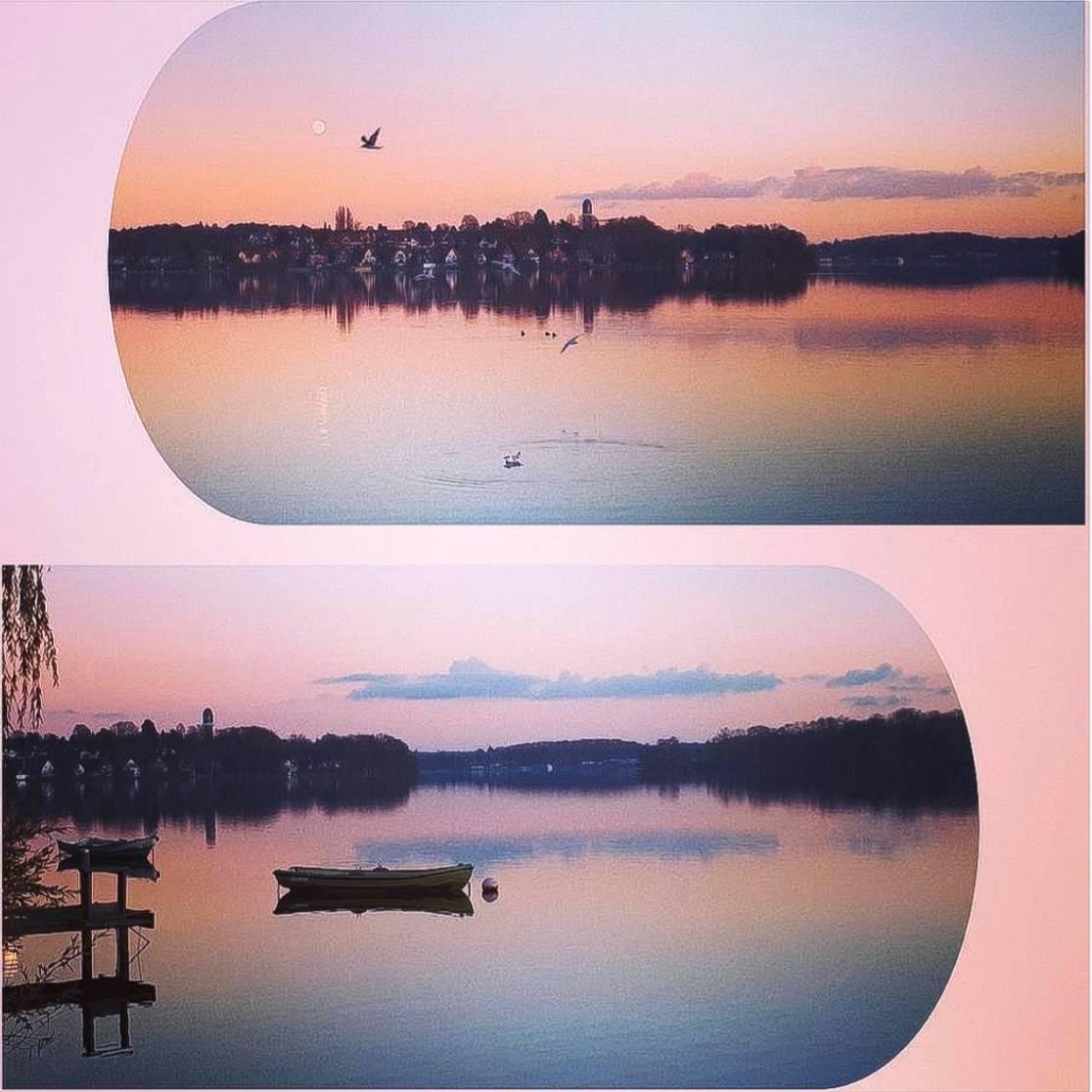 'Sonnenaufgang / Sonnenuntergang' von  Nomi Morina