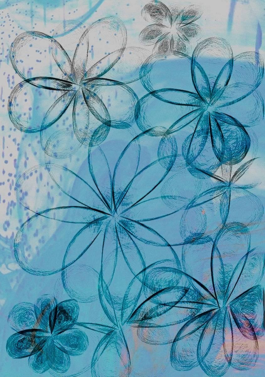 'Blumen in Digital' von  Nomi Morina