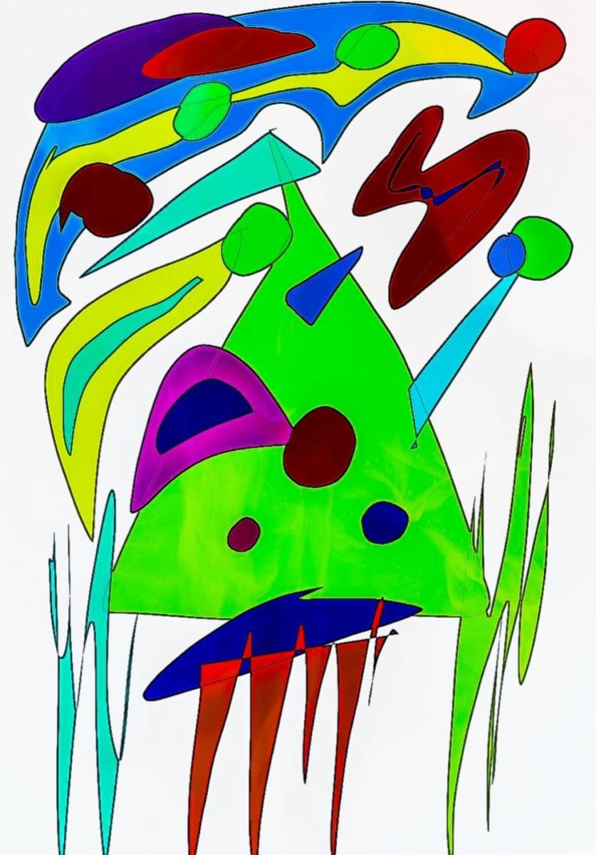 'Clown, Abstrakt' von  Nomi Morina