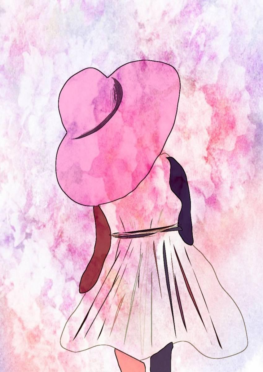 'Dame mit Hut' von Nomi Morina