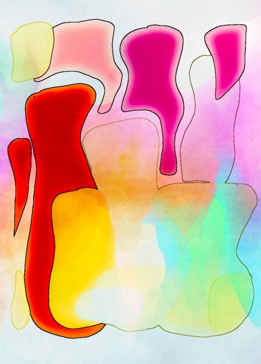 'Abstrakt und Bunt' von  Nomi Morina
