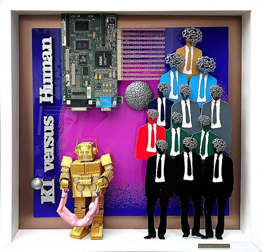 'KI versus Human' von  Goldletter
