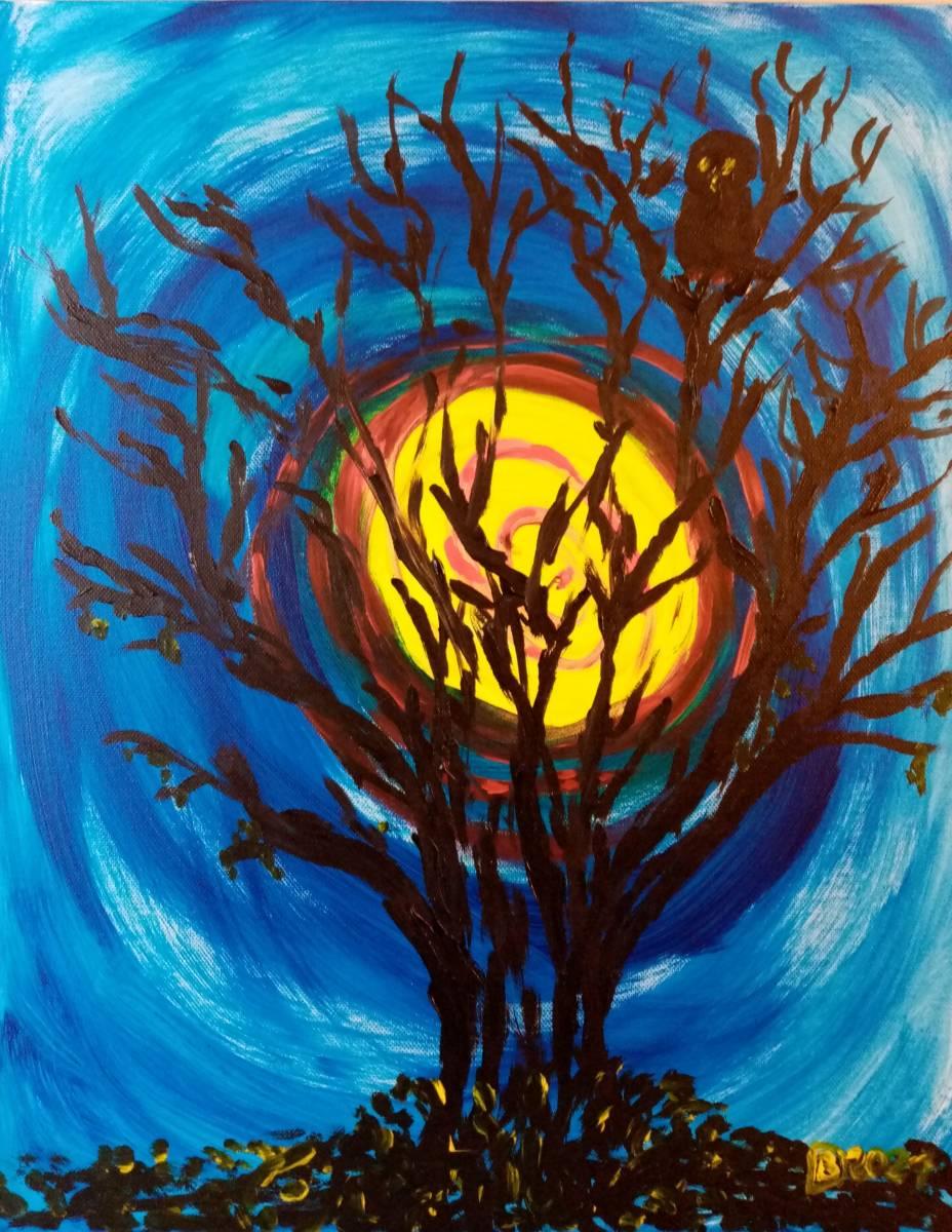'Die alte Eule' von Brigitte Daniele