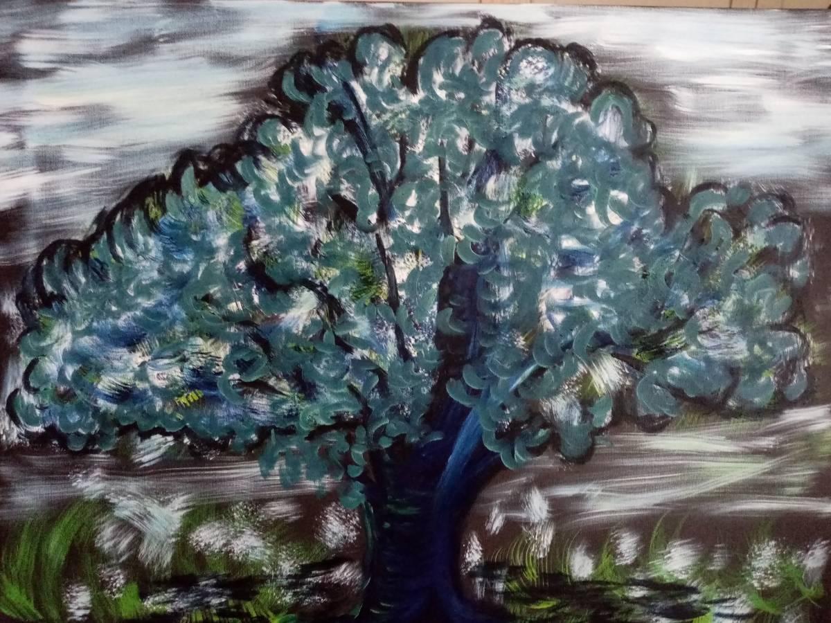 'Blauer Baum' von  Brigitte Daniele