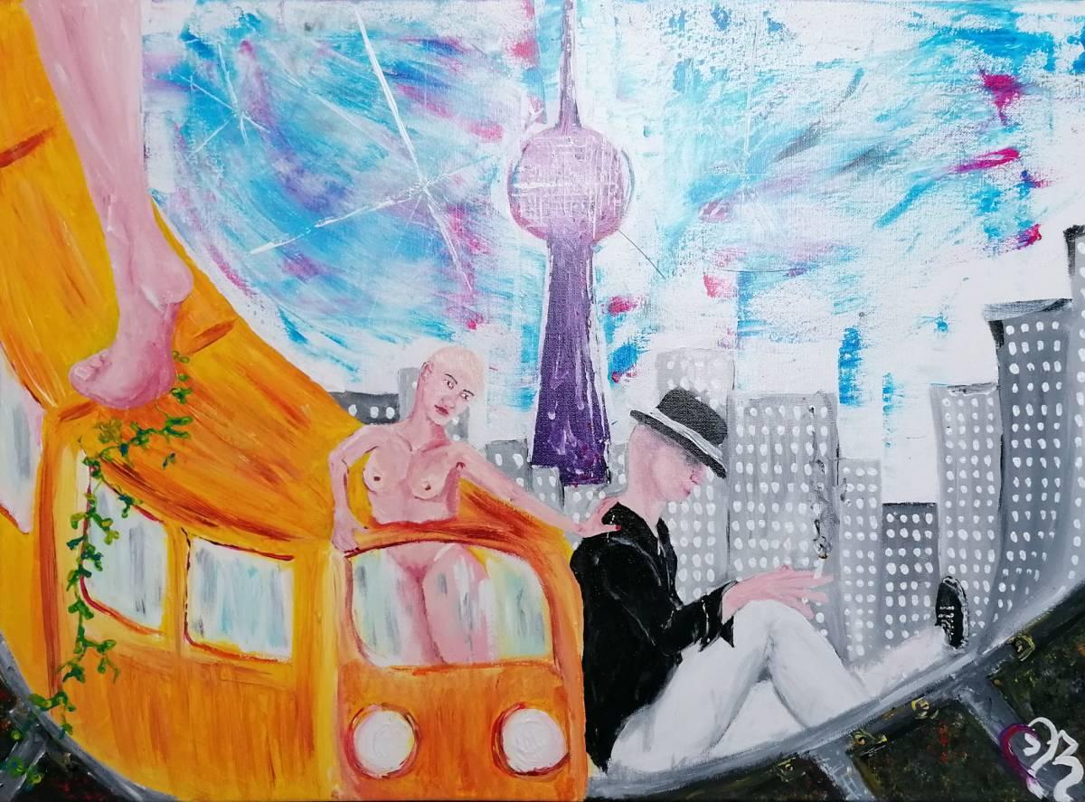 """'""""in AMBULO 1""""' von  DineZ Art"""
