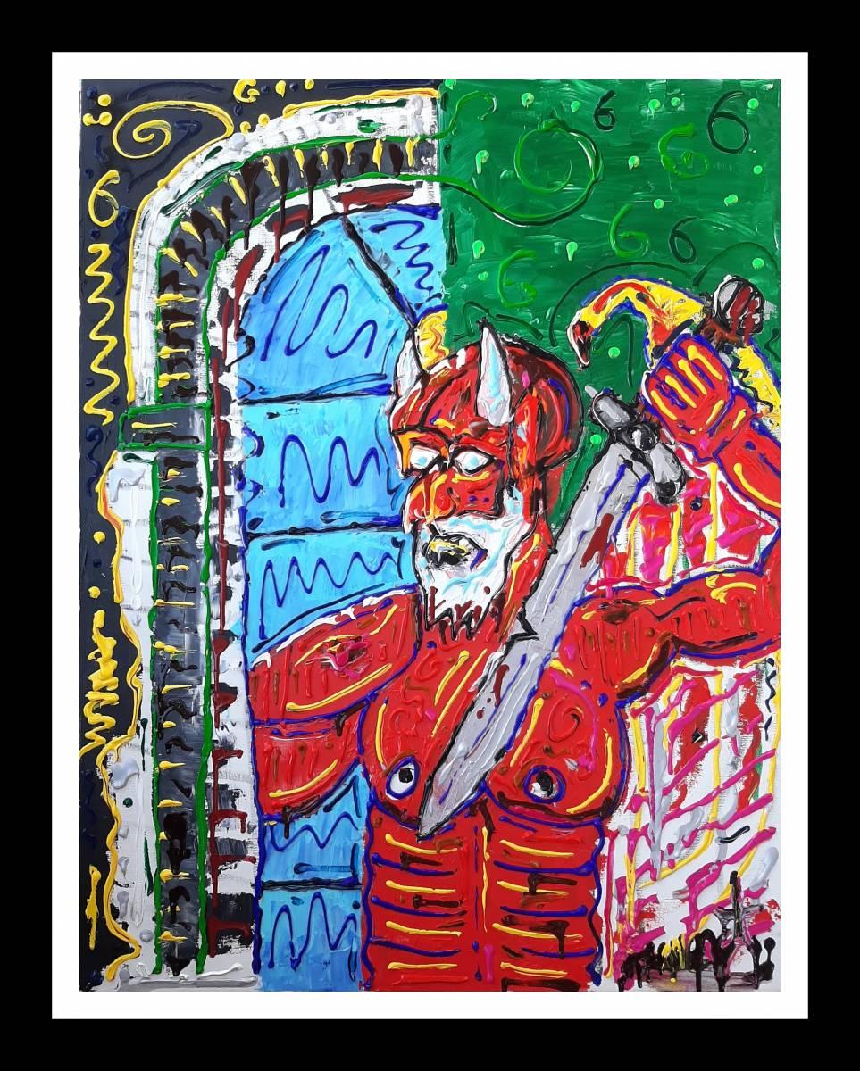 'Devil Warrior' von  Jacksgalerie