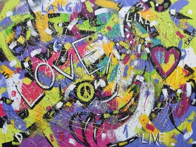'Abstrakt Nr. 1363' von  Peggy Liebenow