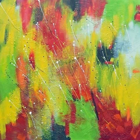 'Abstrakt Nr. 1414' von Peggy Liebenow