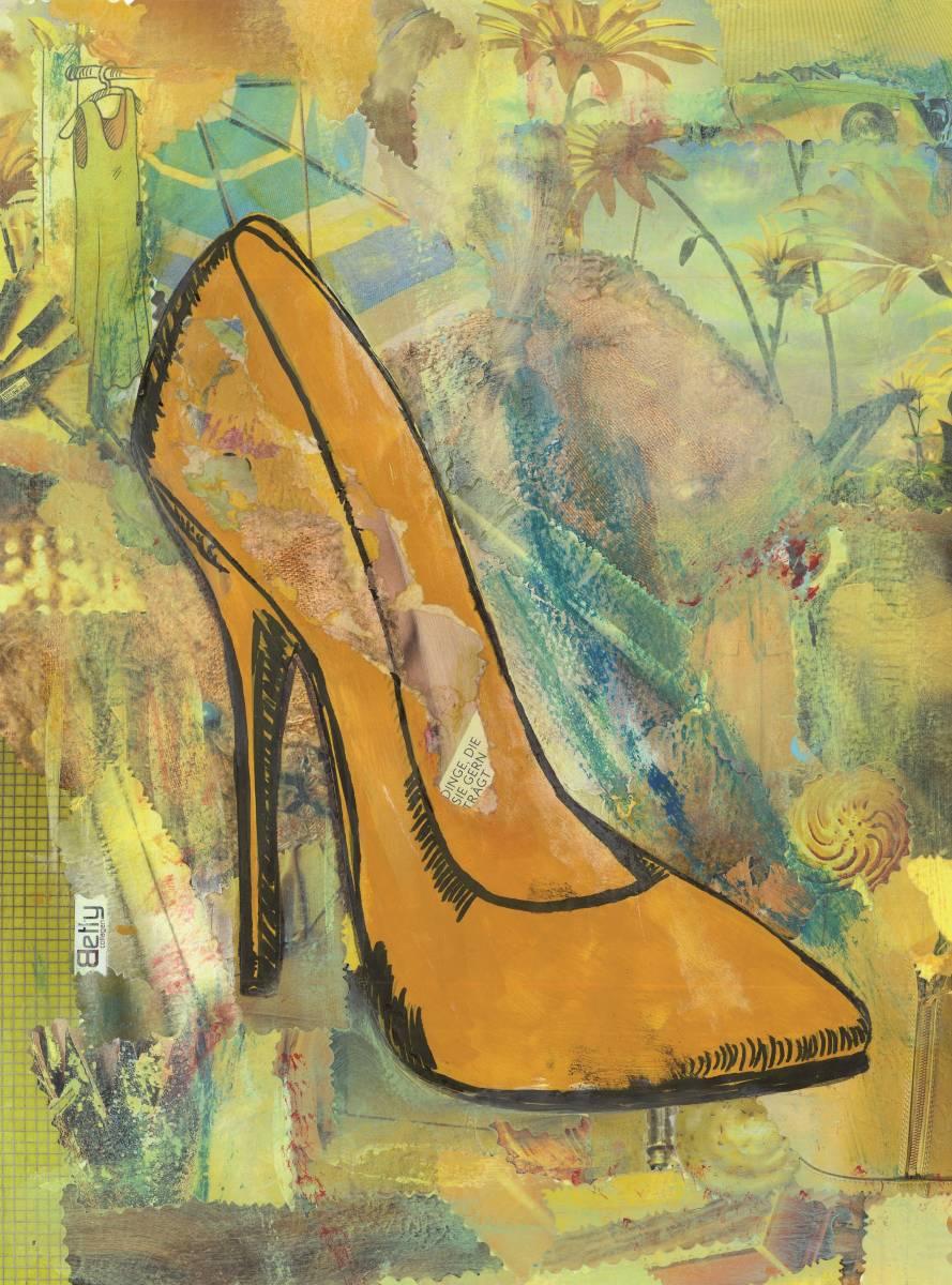 """'""""Yellow""""' von  BettyCollagen"""