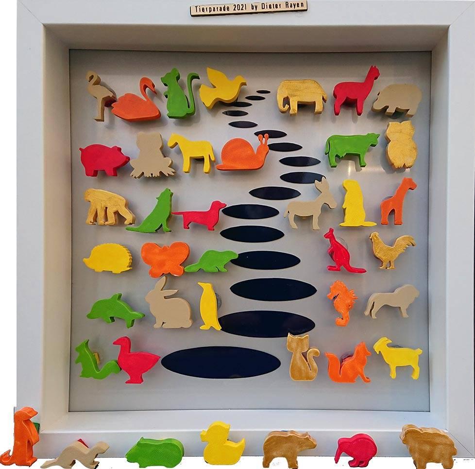 'Tierparade' von  Goldletter