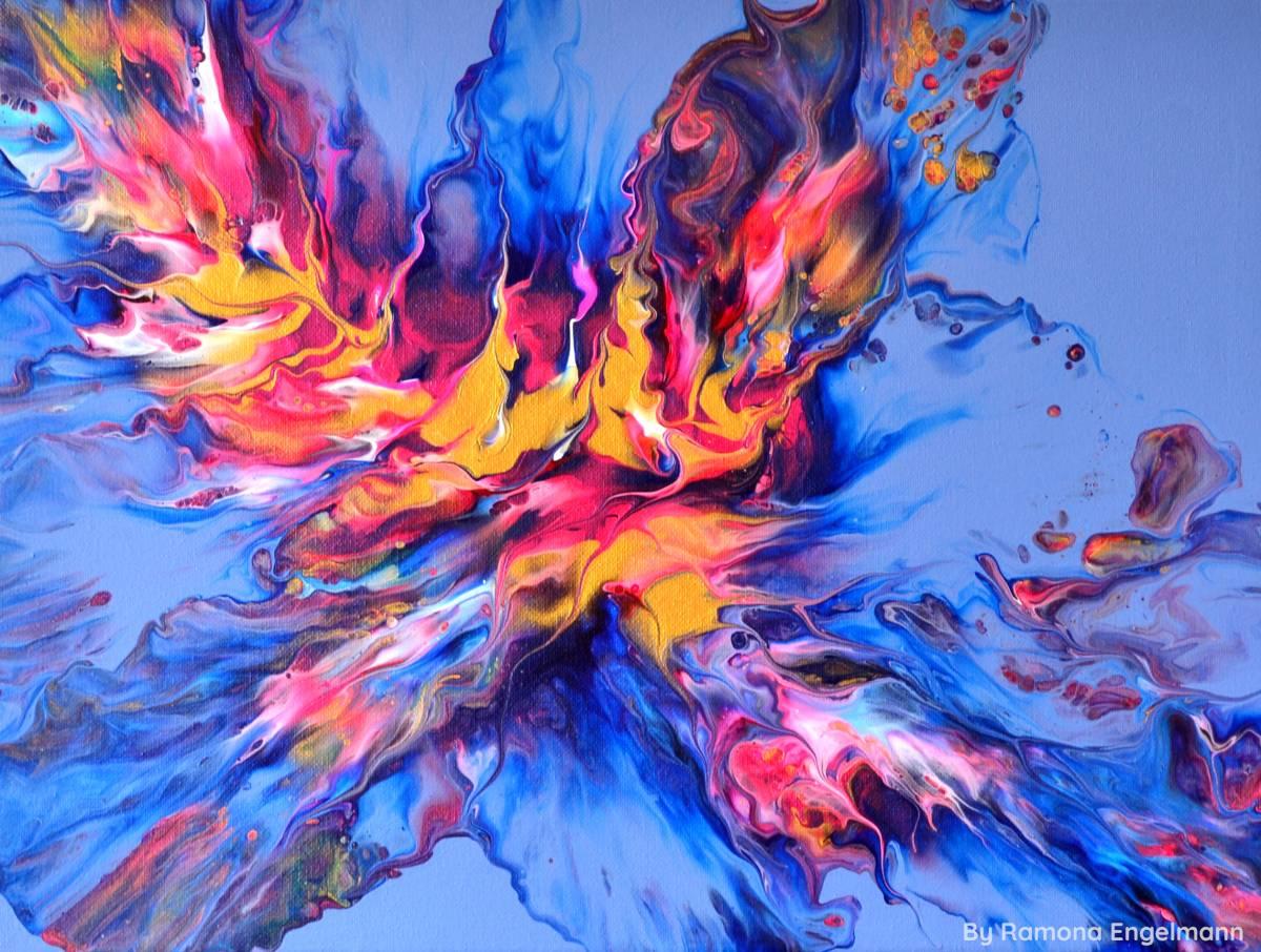 'Vibrant Flames' von  vibrantcreativity