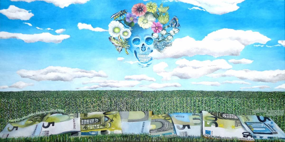 'Monokultur = Moneykultur, die die Artenvielfalt tötet' von  eberhard hippler