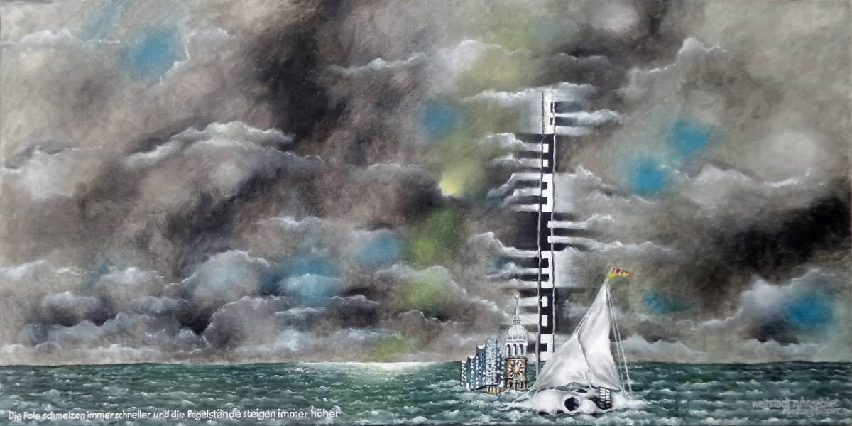 'Die Pole schmelzen immer schneller und die Pegelstände steigen immer höher' von eberhard hippler