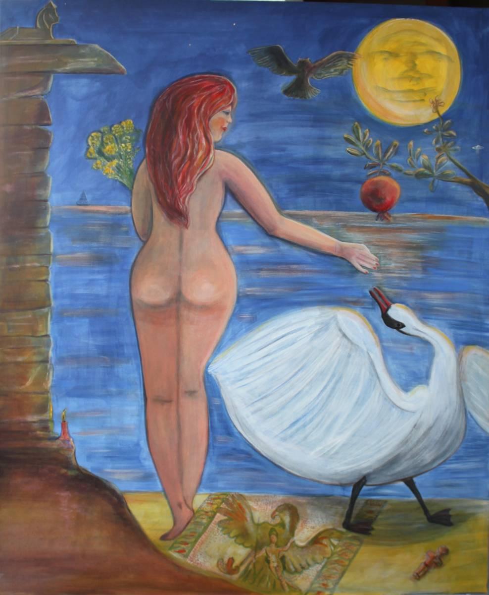 'Leda und der Schwan' von  Louischen