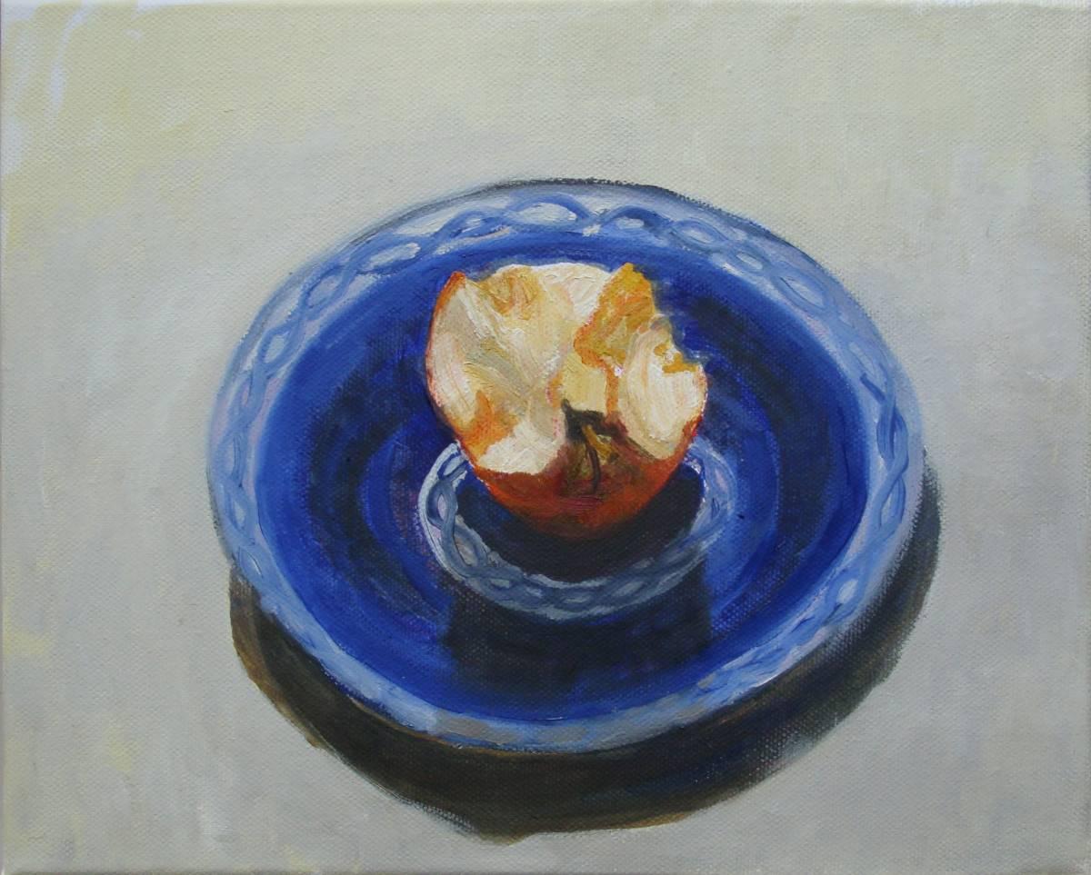 'Apfel - angebissen' von Bettina von Hartmann