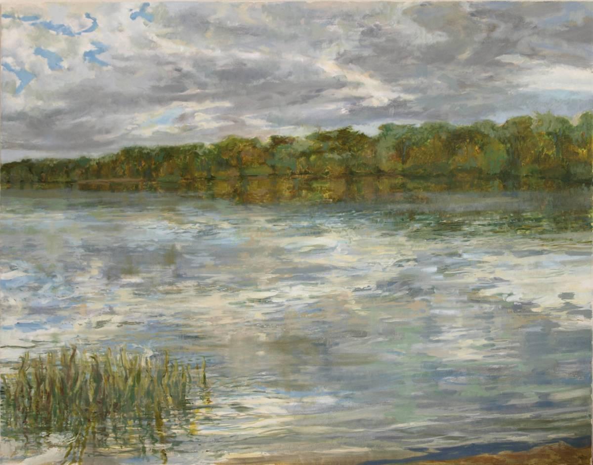 'Am Seeufer' von Bettina von Hartmann