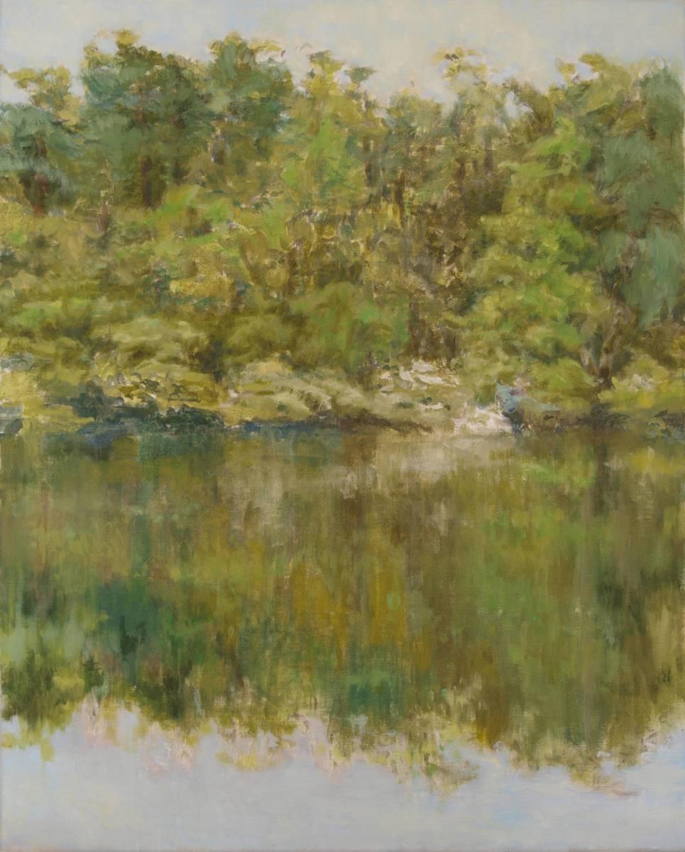 'Am Seeufer 1' von Bettina von Hartmann