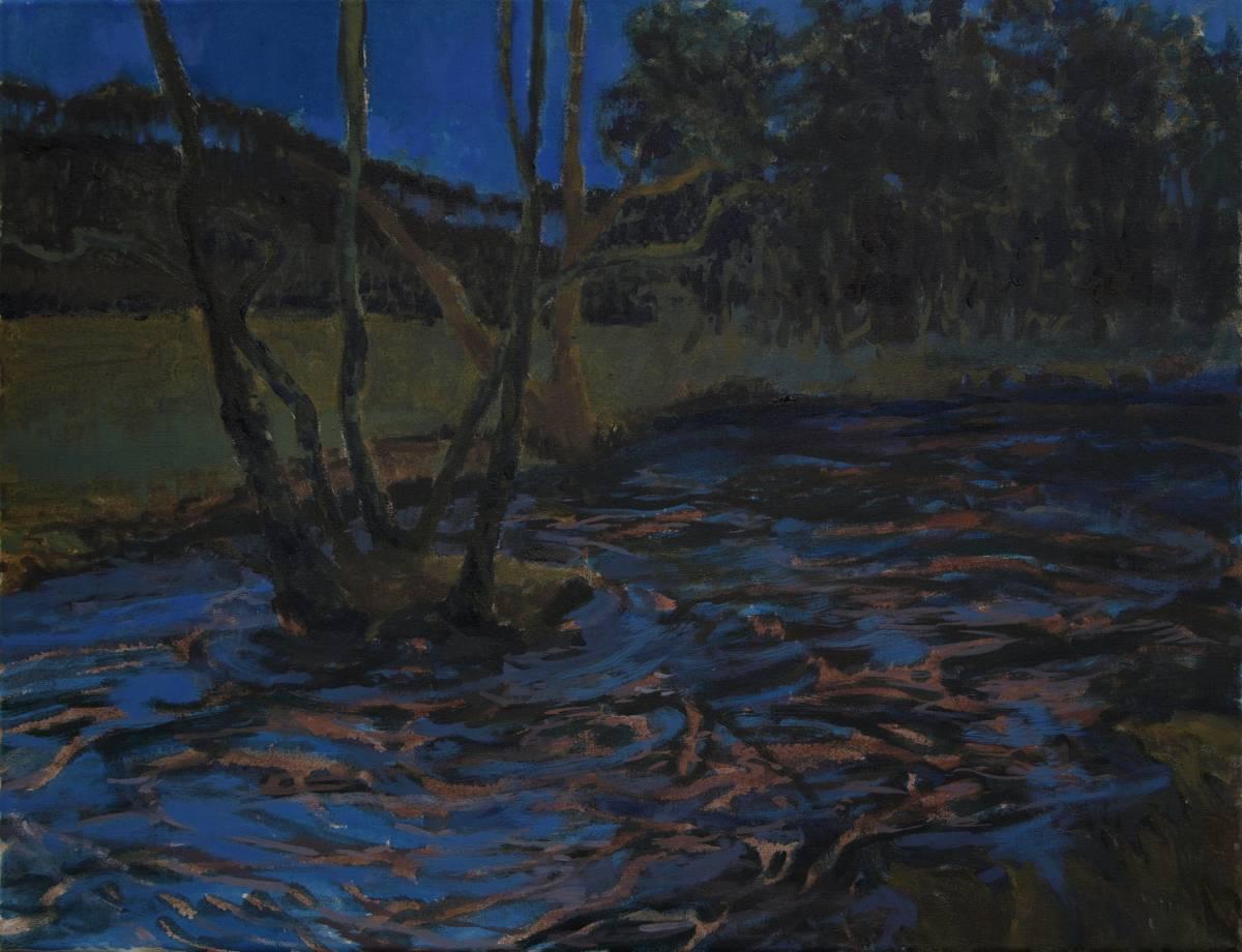 'Insel nachts' von  Bettina von Hartmann