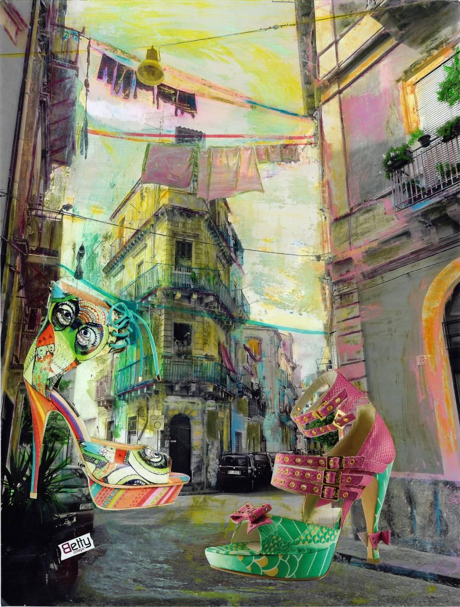 """'""""Colorful Catania""""' von BettyCollagen"""