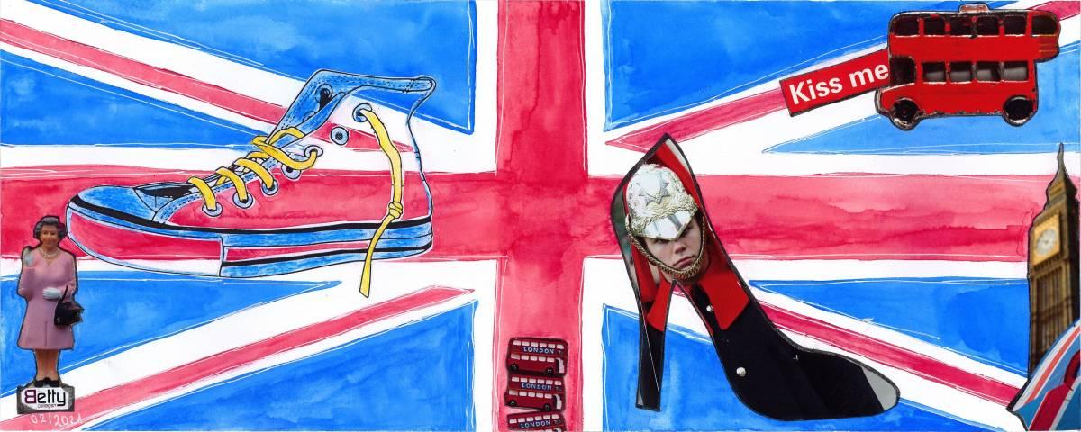 """'""""London Color - Union Jack & Friends""""""""' von  BettyCollagen"""