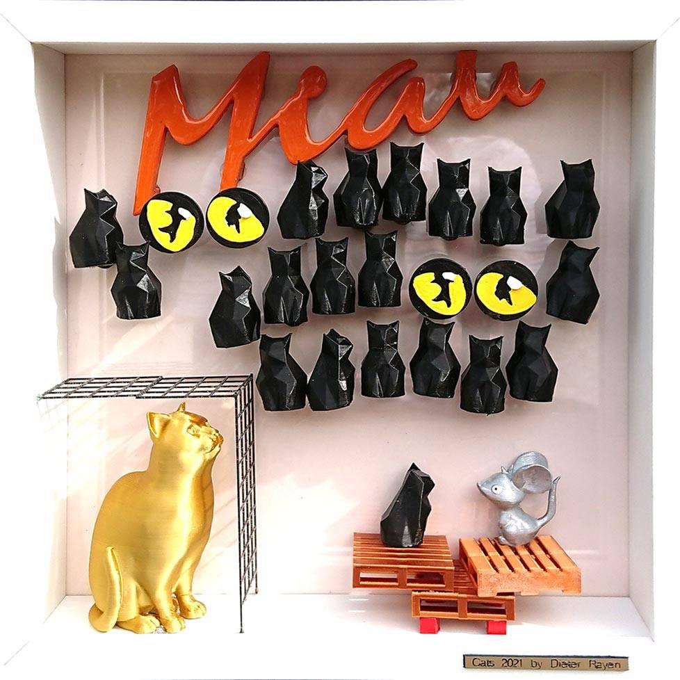 'Cats' von Goldletter
