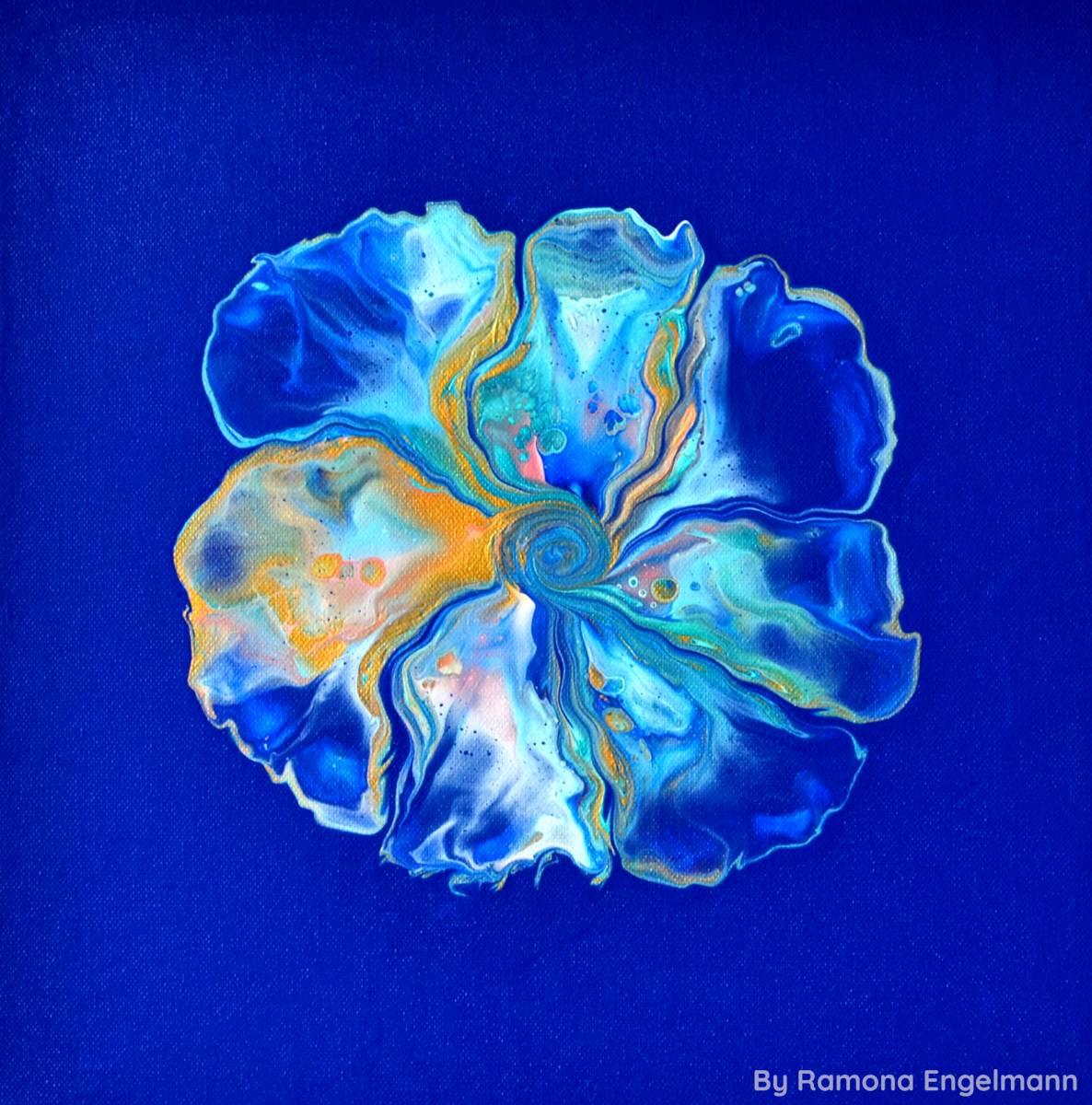 'Flower of Lightness' von  vibrantcreativity
