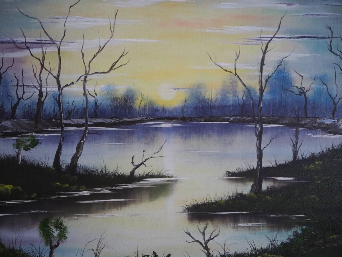 'Sonnenuntergang über dem Sumpf' von  Hardy