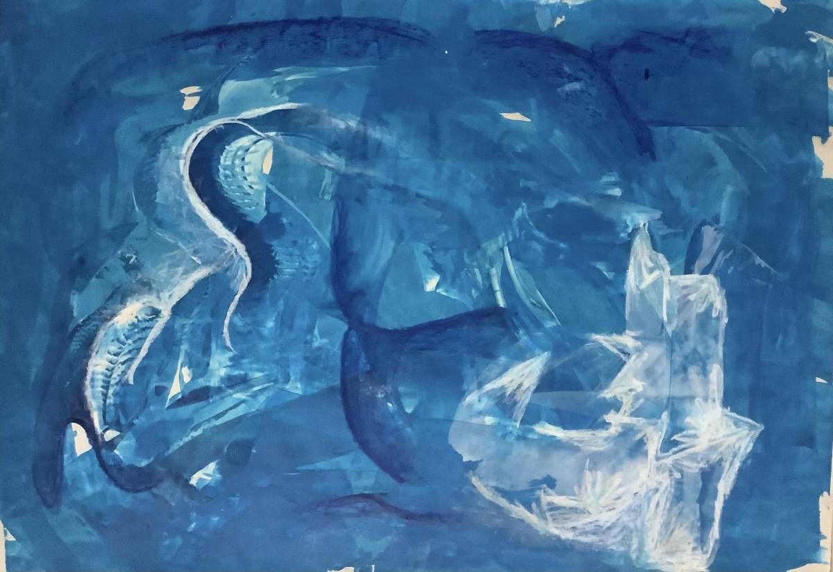 'Blaue Stimmung' von Corinna