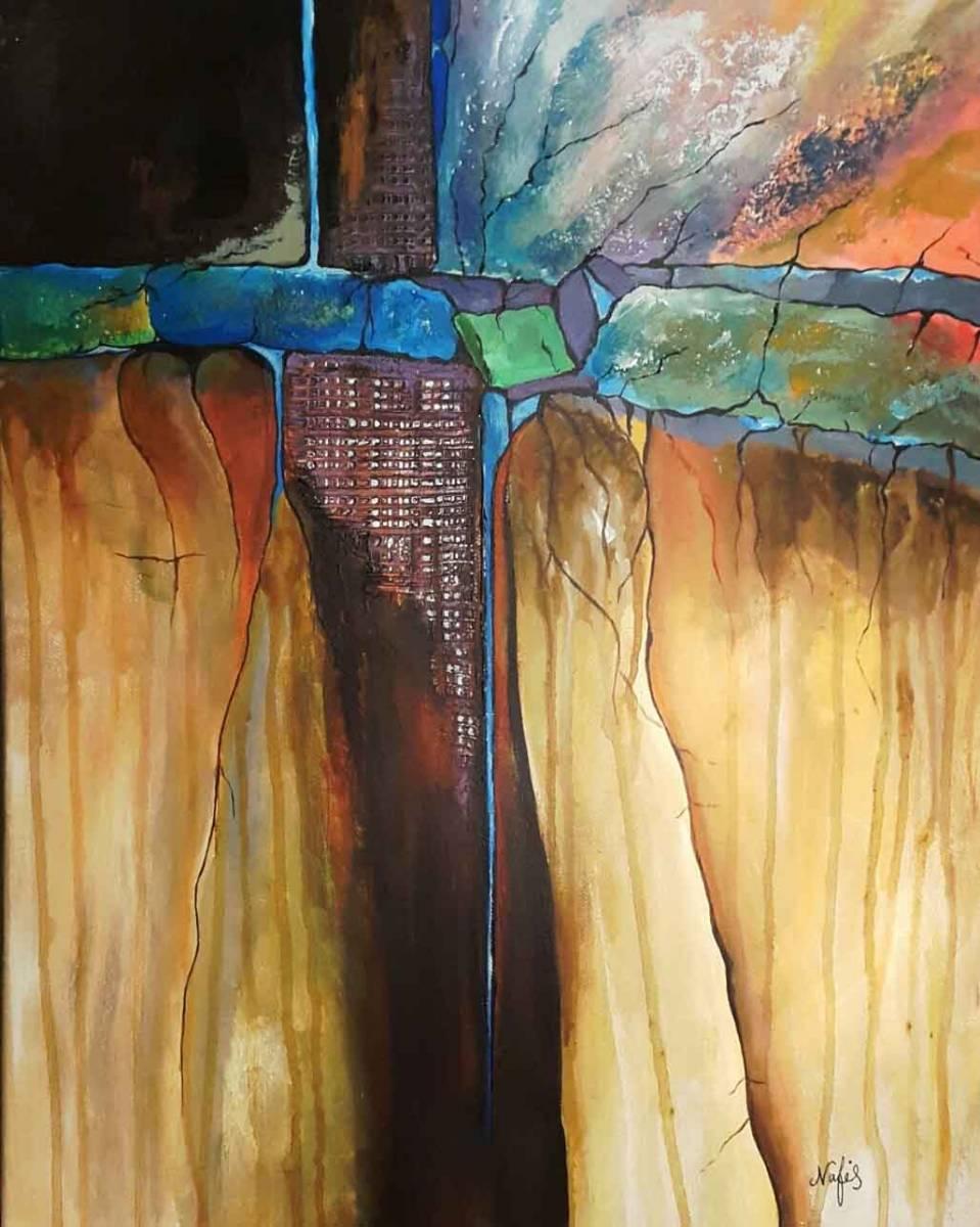 'Wasserfall' von  Artnafis