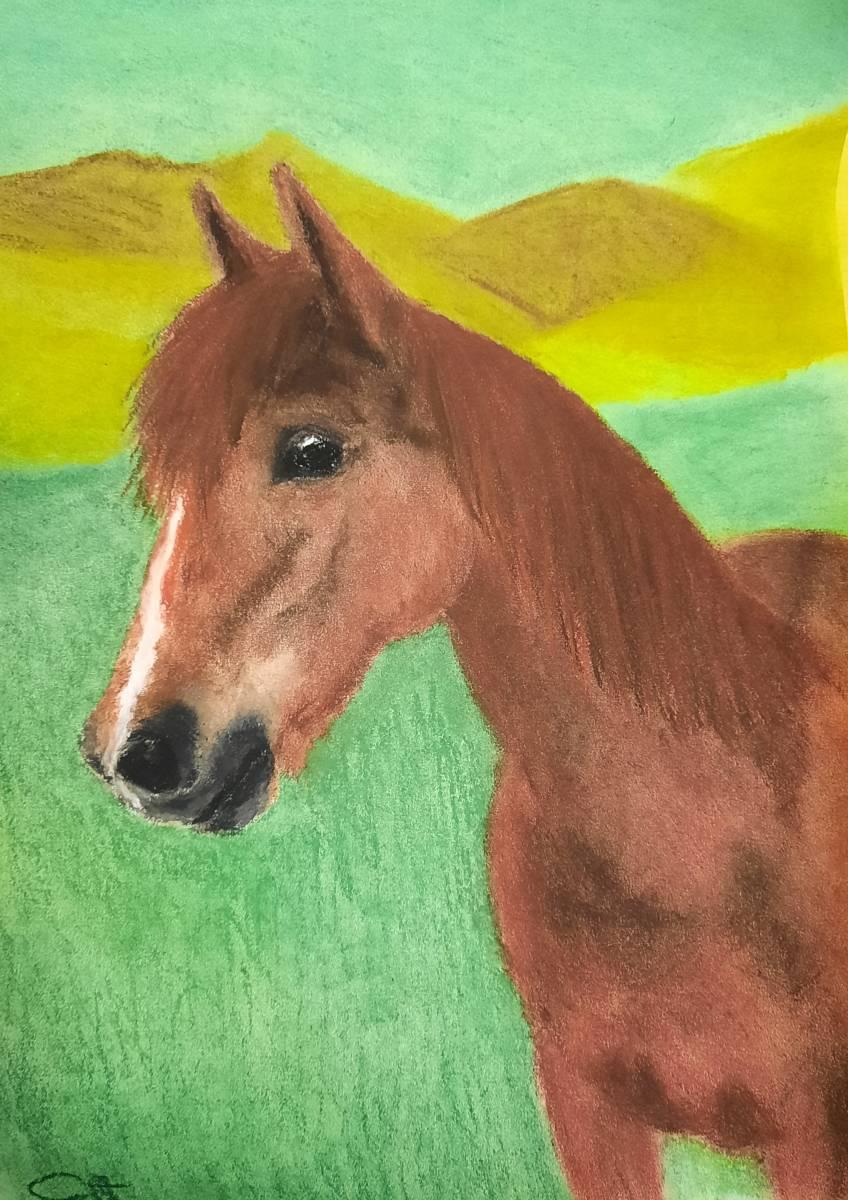 'Pferd 1' von Corina