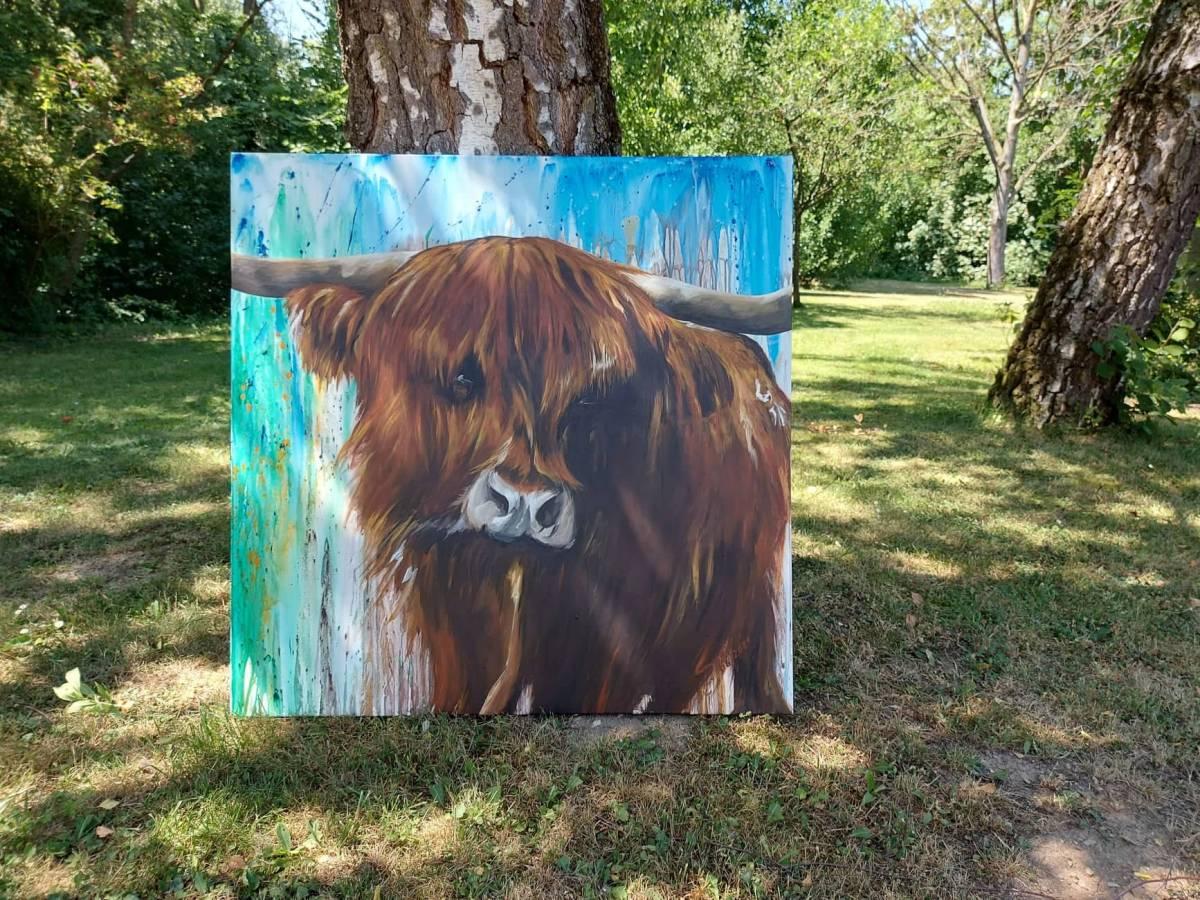 'Highland' von SusanneKlammerArtwork