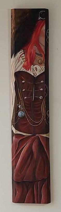 'Steampunk-Garderobe-Woman' von SusanneKlammerArtwork