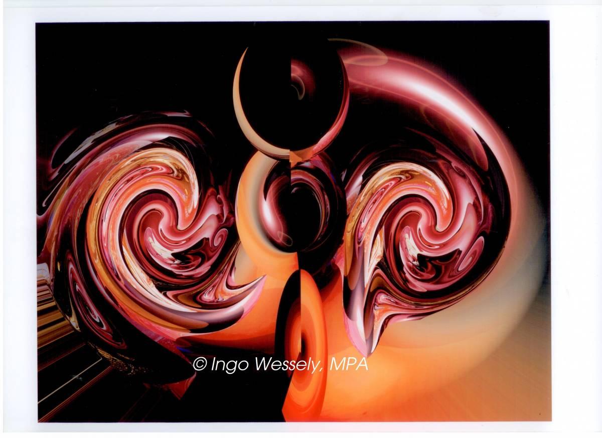 'Red Energy' von Ingocoradoart
