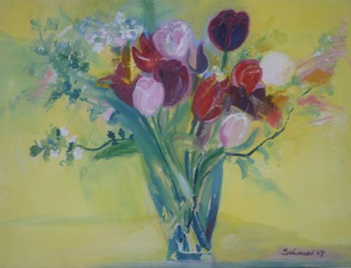 'Frühlingsfarben' von  Sigrid Schauer