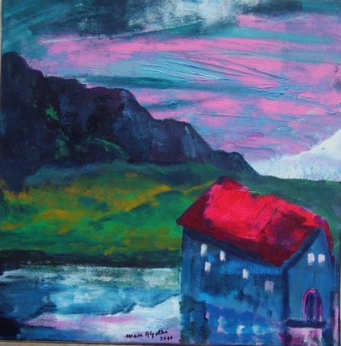 träumendes Haus am See