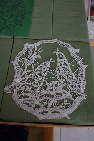 Handgeklöppeltes Hochzeitsbild