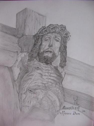 kruzifixus im passauer dom